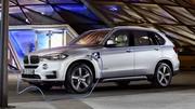 BMW X5 xDrive40e (2015) : premières photos officielles