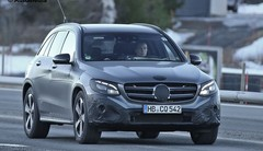 Mercedes GLC : Le masque tombe