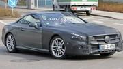 La Mercedes SL restylée déjà sur la route