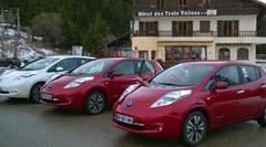 Challenge Nissan Leaf électrique : Essai en mode rallye au col du Turini