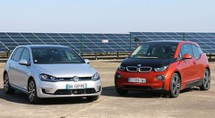 Essai BMW i3 vs Volkswagen Golf GTE : Electrons libres