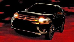 Mitsubishi Outlander 3 restylé : premiers teasers