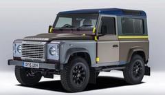 Land Rover : un Defender dessiné par Paul Smith