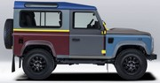 Paul Smith signe un Land Rover multicolore