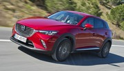 Mazda CX-3 2015 : essai en avant-première du diesel 105 ch 4x2