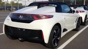 La Honda S660 toute nue