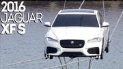 La Jaguar XF prend de la hauteur à Londres