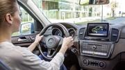 Mercedes GLE (2015) : une version hybride rechargeable de 442 ch