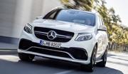 Mercedes-AMG GLE 63 (2015) : l'anti-BMW X5 M