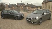 Essai BMW Série 2 Active Tourer vs Mercedes Classe B : Monospaces première classe