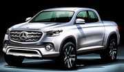 Un pick-up Mercedes d'ici 2020