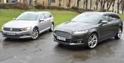 Essai Volkswagen Passat et Ford Mondeo : la voiture de l'année face à sa concurrente