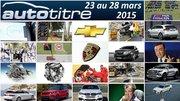 Les titres de l'actualité auto du 23 au 28 mars 2015