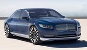 Lincoln Continental Concept : retour en 2016