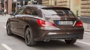 Essai Mercedes CLA Shooting Brake 220 CDI 7G-DCT Sensation : Du style et un peu de volume