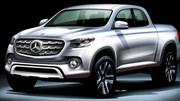 Mercedes-Benz va lancer son pick-up !