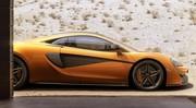 McLaren 570S : Descente en rappel
