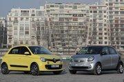 Essai Renault Twingo vs Smart Forfour : dispute familiale