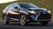 Nouvelle Lexus RX : Croissance accélérée