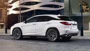 Le Lexus RX se met en quatre