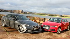 Essai Audi A3 e-tron vs Lexus IS 300h : Alternatives hybrides