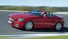 Ménage de printemps pour la gamme Mercedes SLK
