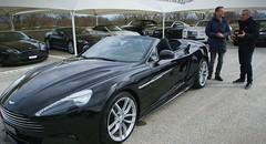 Emission Turbo : AM Vanquish Volante, Salon New York, Model S P85D