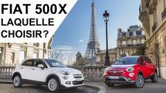Fiat 500X : laquelle choisir ?