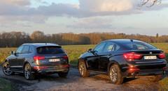 Essai Audi SQ5 vs BMW X6 30d : Être ou paraître?
