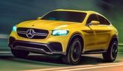 Mercedes GLC 450 AMG Coupé : Péril jaune
