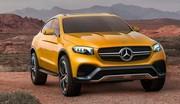 Mercedes GLC Coupé Concept : Rival du BMW X4