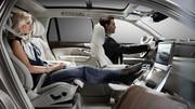 Volvo tease un SUV XC90 sans siège passager avant