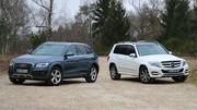 Essai Audi Q5 vs Mercedes GLK : Les papys font de la résistance