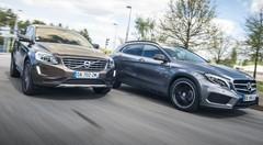 Essai Volvo XC60 D4 AWD vs Mercedes GLA 220 CDI 4Matic 7G-DCT : Séducteurs-nés