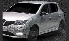 Premiers clichés en fuite pour la Renault Sandero RS
