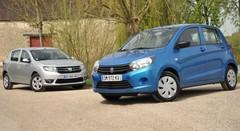 Essai Suzuki Celerio et Dacia Sandero : duel à petit budget