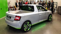 Skoda FUNstar : concept de Fabia pick-up