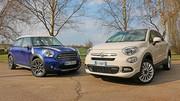 Essai Fiat 500X vs Mini Countryman : SUV sexy