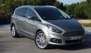 Essai Ford S-Max : Élégance et technologies