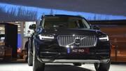 Le Volvo XC90 T8 se contente de 2,1 litres/100 km