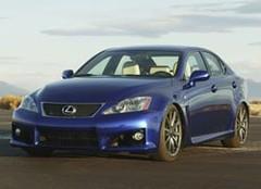 Lexus IS-F: taxée hautes performances