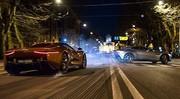 James Bond - Spectre: Un duel Aston Martin DB10-Jaguar C-X75 pour 007