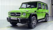 Mercedes-Benz Classe G : jusqu'à 630 ch pour le millésime 2015