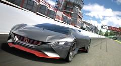 Peugeot Vision Gran Turismo : la supercar virtuelle de Peugeot