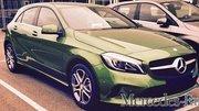 Mercedes : la Classe A restylée surprise sans camouflage