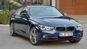 BMW Série 3 (2015) : les photos de la version restylée