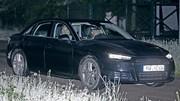 Future Audi A4 : Partie de cache-cache nocturne