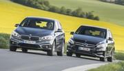 Essai BMW Série 2 Active Tourer vs Mercedes Classe B 2015