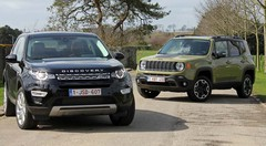Essai Jeep Renegade vs Land Rover Discovery Sport : Hors des sentiers battus