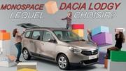 Monospace Dacia Lodgy : lequel choisir ?